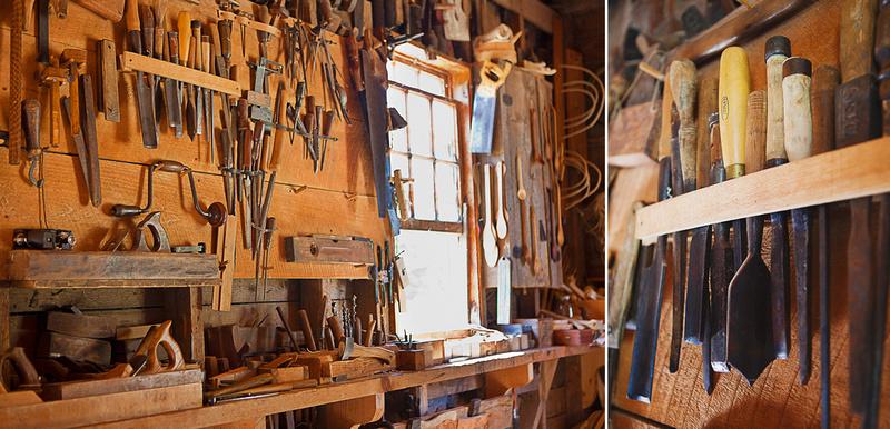 Carpentry Shop at Ross Farm Museum