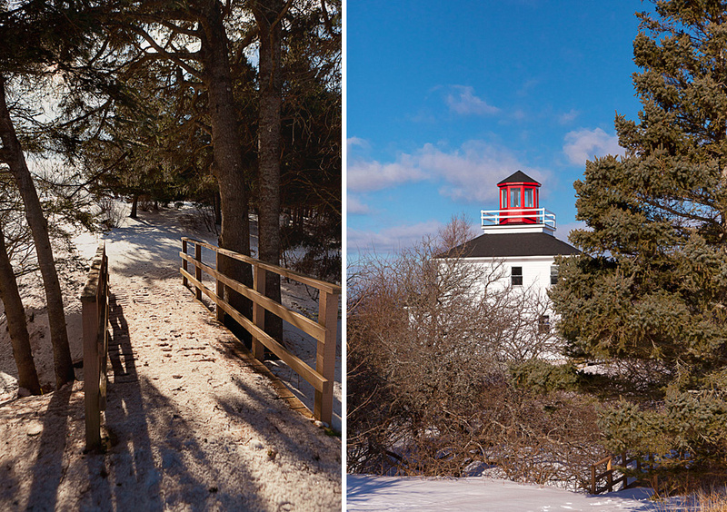 Lighthouse and Interpretive Centre at Burncoat Head