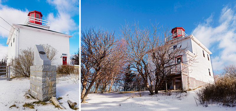 Lighthouse and Interpretive Centre at Burncoat Head Park