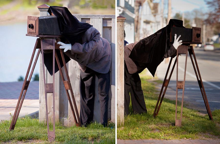 Scarecrow Photographer